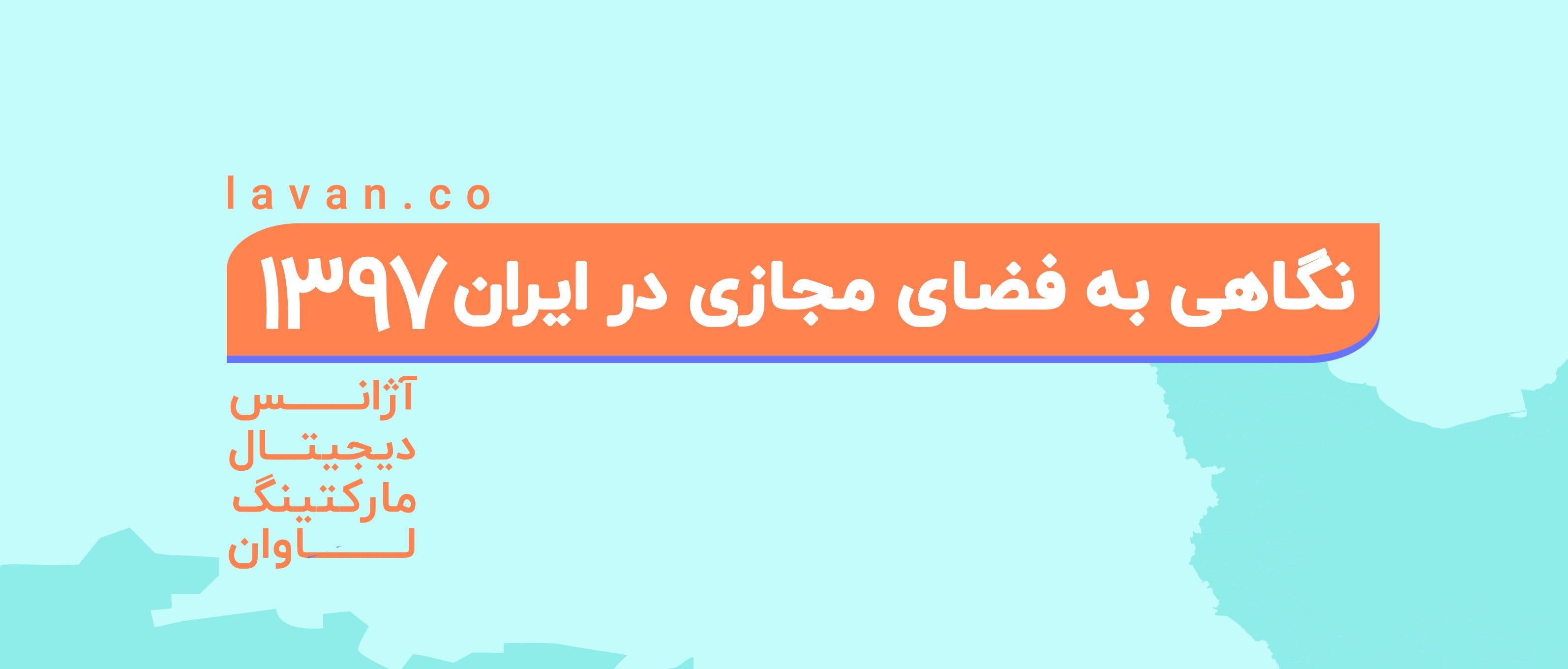 فضای مجازی در ایران ۱