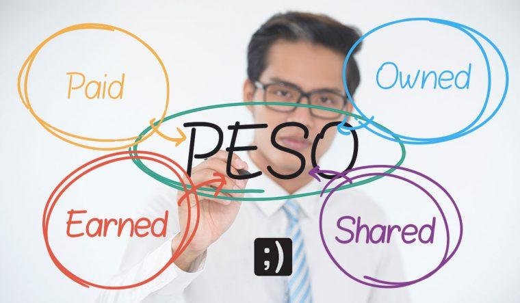 استراتژی انتشار محتوا به سبک PESO   لاوان